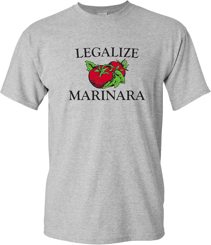 Legalize Marinara - Funny Parody Italian Tomato Sauce Food Humor T Shirt