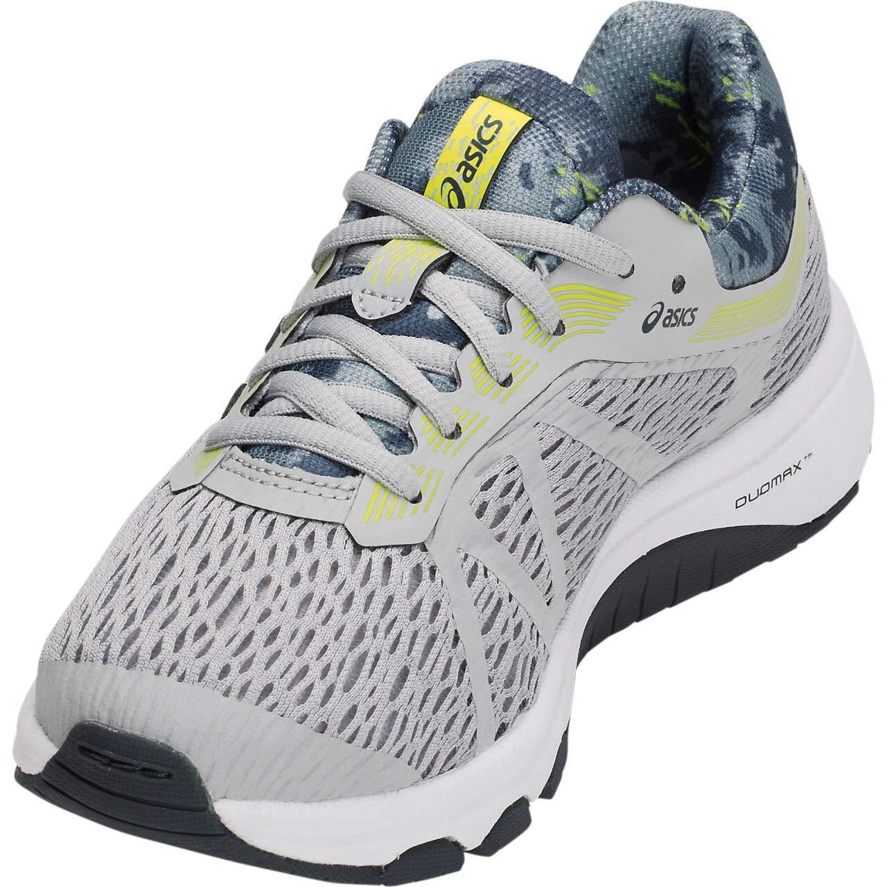 punto final Refrescante patio de recreo  Buy ASICS Unisex Kid's MID Grey Running Shoes-4 UK (37.5 EU) (5 US)  (1014A038) at Amazon.in