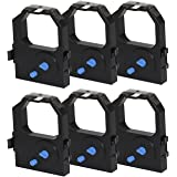 myCartridge 6 Pack Compatible IBM Proprinter 2380/2381/2390/2391/2480/2490/Lexmark 2380/2390 Matrix Black Ribbon