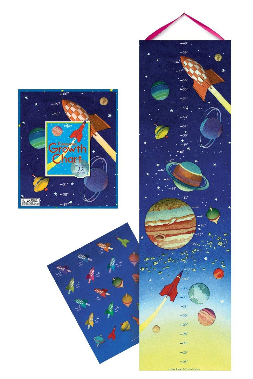 Eeboo Space Growth Chart [Toy] GCSPAC