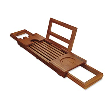 Conair Home Solid Teak Bathtub Tray