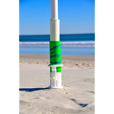 Mike's Spikes Beach Umbrella Anchor : Fishing Rod Cases And Tubes : Garden & Outdoor
