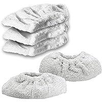 Spares2go de algodón rizado portada de tela almohadillas