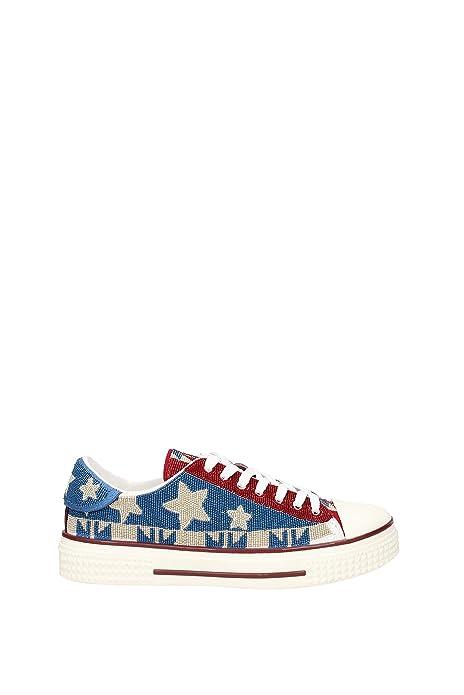 Sneakers Valentino Garavani Mujer - Tejido (KW2S0019RAS) EU: Amazon.es: Zapatos y complementos