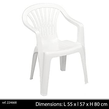 Greemotion Stacking Chair Altea Plastic Garden Chair Monoblock