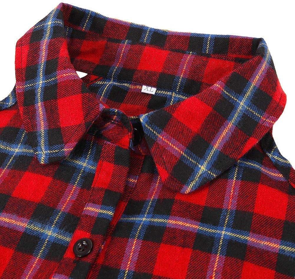 Camisa De Leñador Mujer Primavera Elegante Moda Shirt Un Solo Pecho Manga Largo Sin Tirantes Camisa Casuales Sencillos Irregular Bolsillos Delanteros Cómodo Hipster Camisas Estilo: Amazon.es: Ropa y accesorios