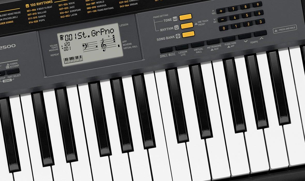 casio ctk 2500 61 keys piano black amazon in musical instruments