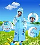 Ancmaple Rain Jacket for Kids Waterproof Hooded