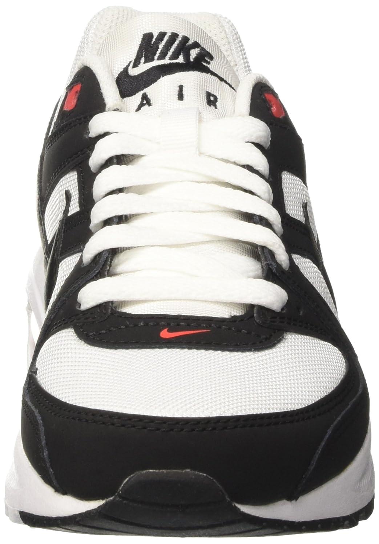 Nike Herren Air Max Command Flex (GS) Sneaker, Mehrfarbig (WhiteBlack Orange 100), 38 EU