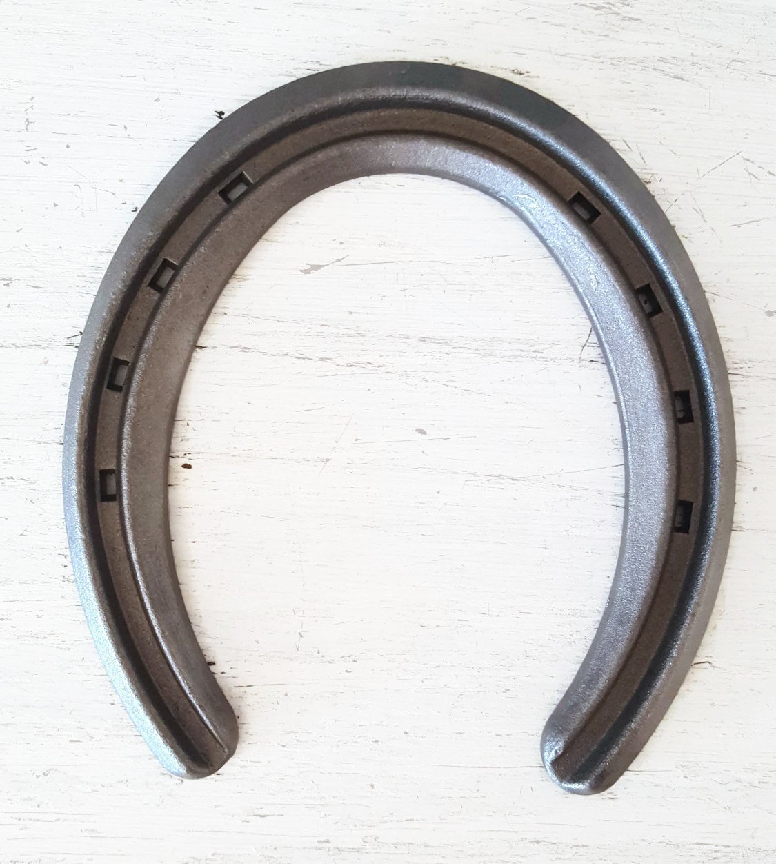 New Steel Horseshoes - Lite Rim Size 1 - Sand Blasted - The Heritage Forge Size 1 - 20 Shoes