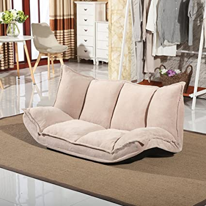 Fantastic Amazon Com Qiq Folding Sofa Bed Casual Lazy Couch Cute Beutiful Home Inspiration Aditmahrainfo