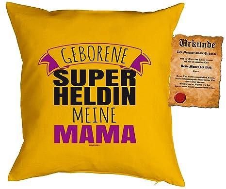 Art & Detail Shirt Cojín: mamá mamá día de la Madre Nacida ...