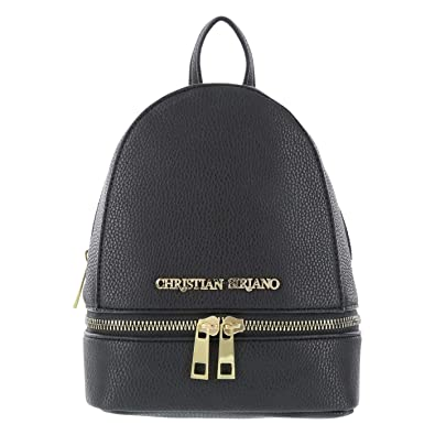 Amazon.com | Christian Siriano for Payless Black Mini Rowan Backpack one size Regular | Casual Daypacks