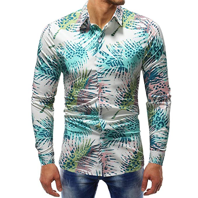 Herren Shirt Marine Mumuj Sale Retro bügelfrei Bedruckter