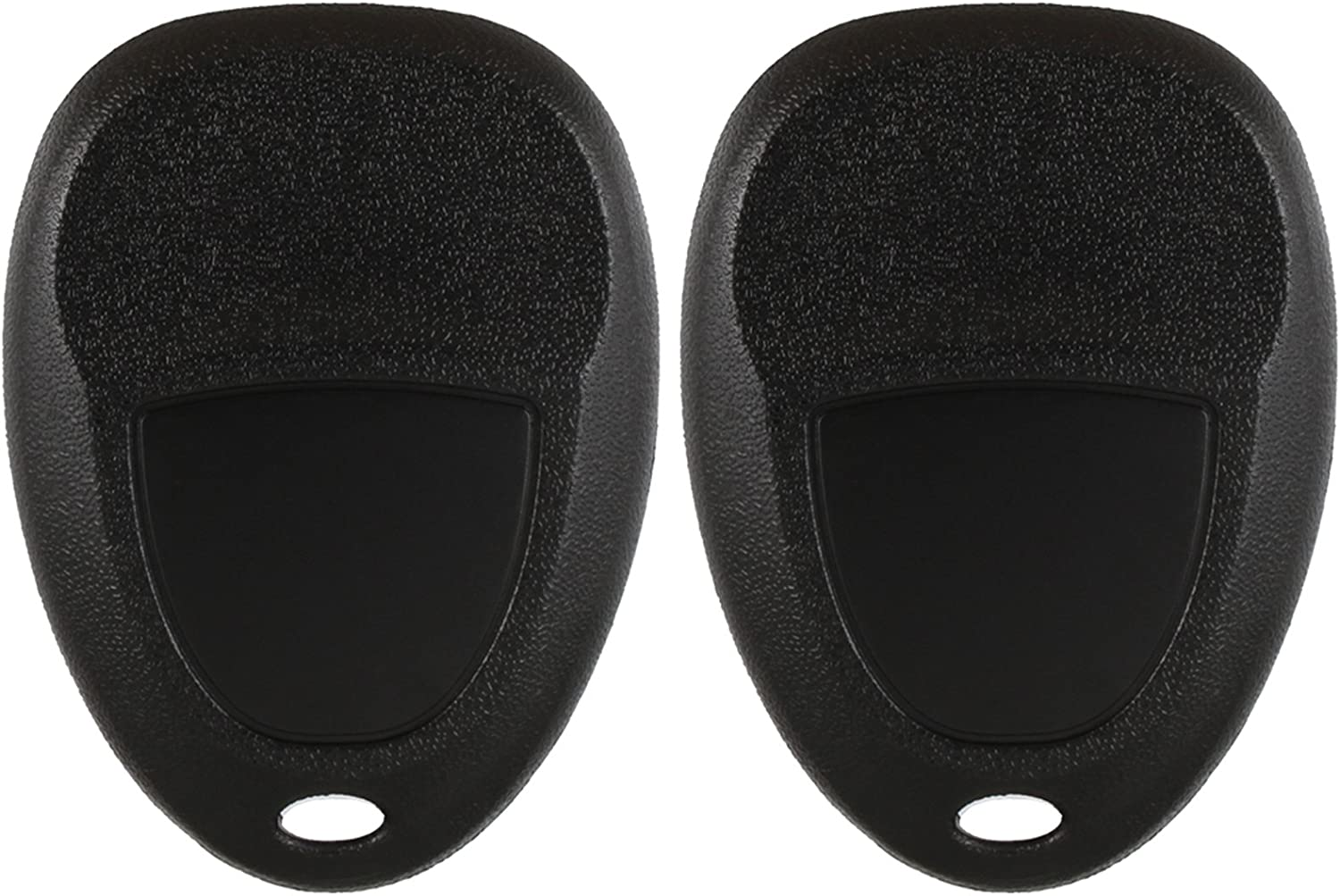 2 Pack ID 46 25839476 Discount Keyless Replacement Key Fob Car Remote and Uncut Transponder Key Compatible with 15913415