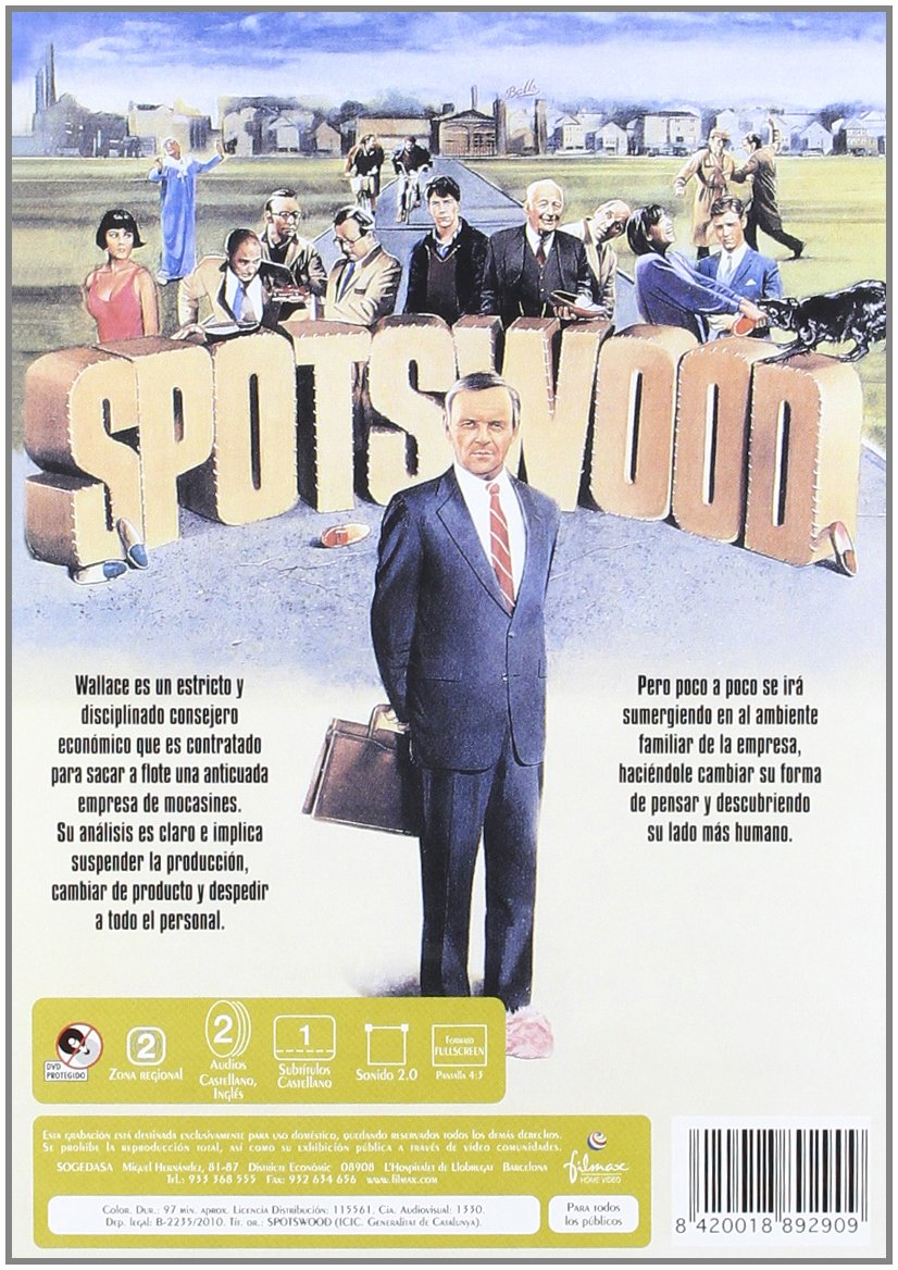 Amazon.com: Spotswood (Import Movie) (European Format - Zone 2) (2010) Anthoy Hopkins; Ben Mendelsohn; Alwyn Kurts; Ton: Movies & TV