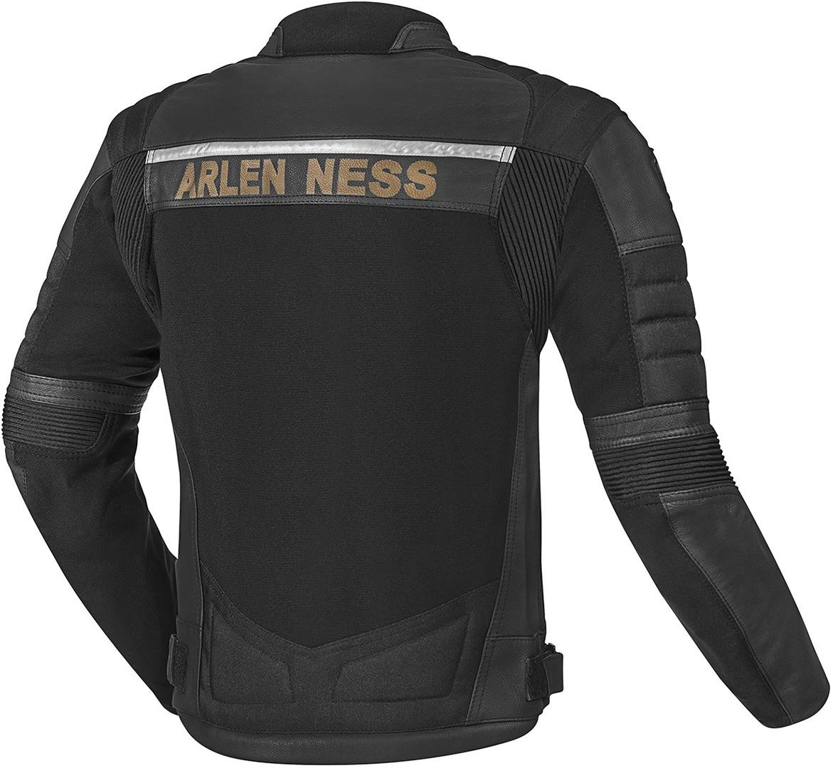 Arlen Ness Tough Rider Giacca Moto in Pelle//Tessuto