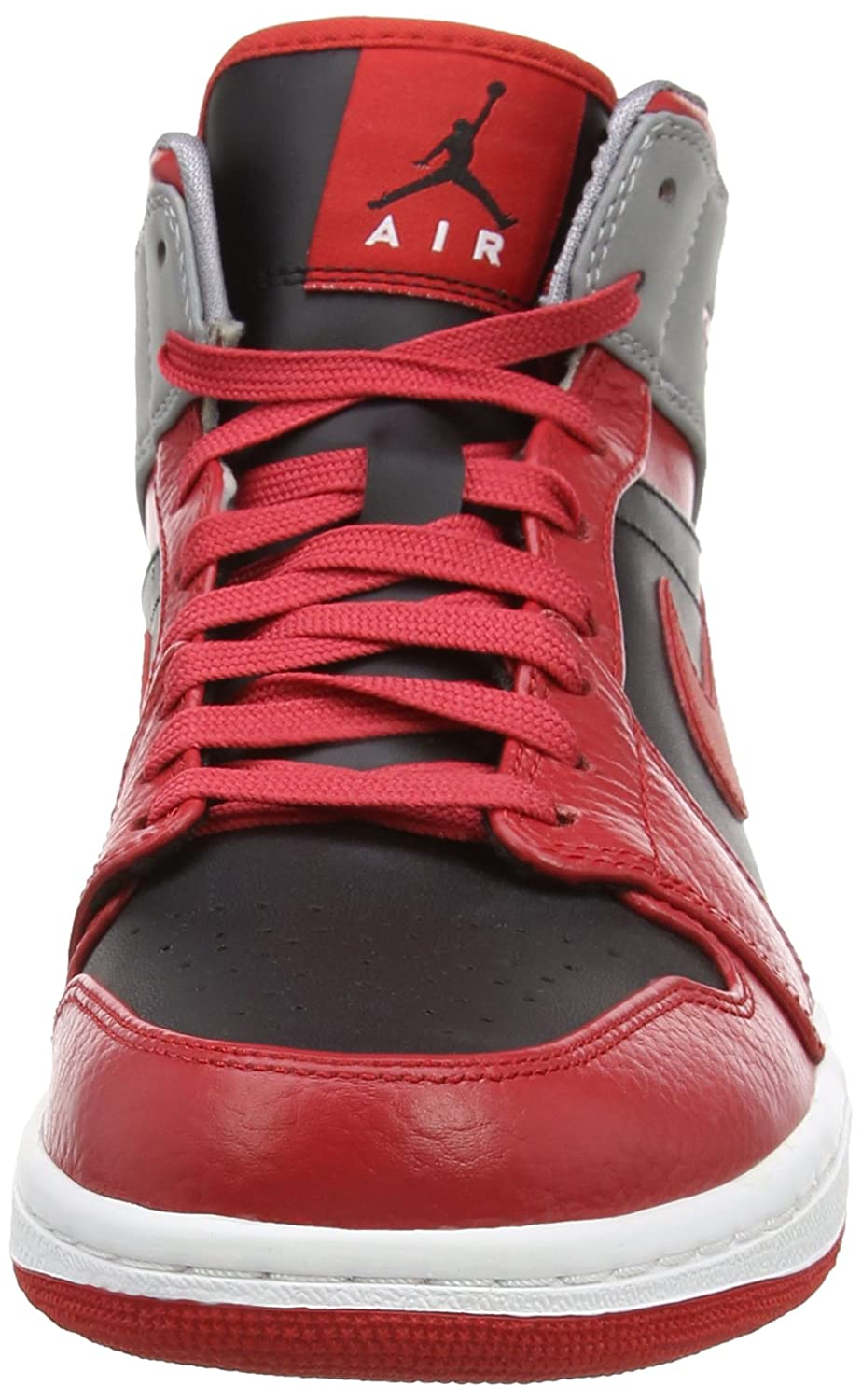 Nike AIR JORDAN 1 MID 554724-603-42 - 8.5 Rouge: Amazon.co.uk: Shoes & Bags