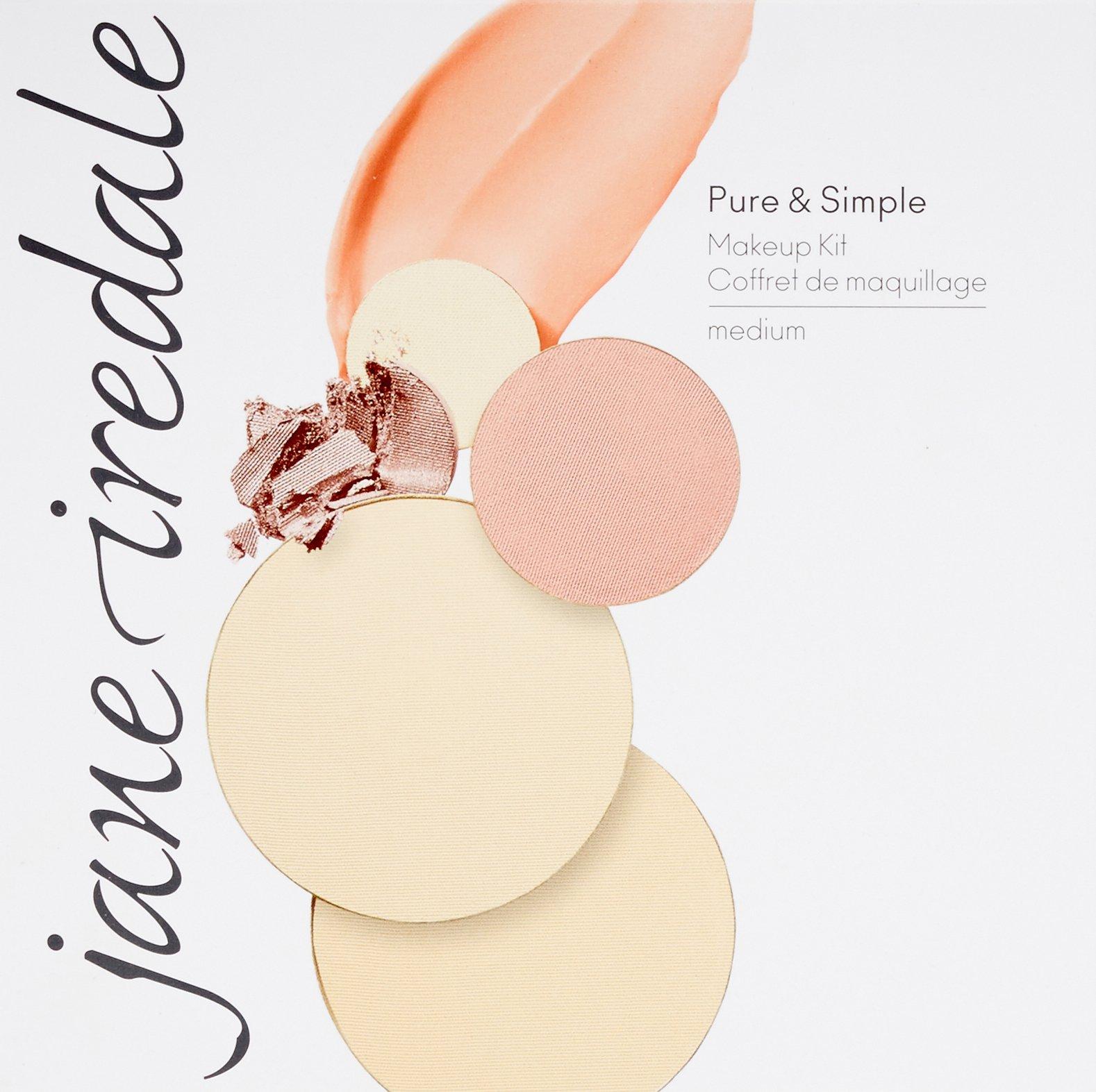 jane iredale Pure & Simple Makeup Kit, Medium.40 oz. by jane iredale (Image #3)