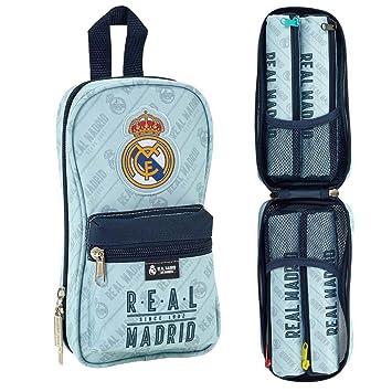 Amazon.com: Real Madrid Mochila de estuche 4 sin papelería