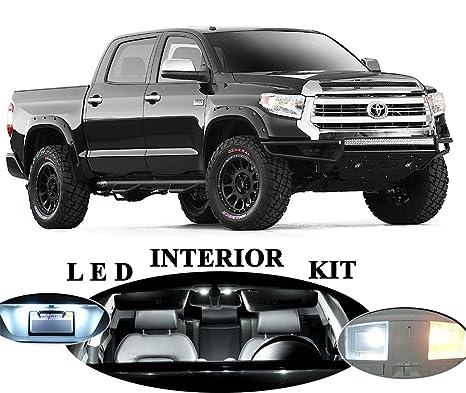 Amazon.com  Toyota Tundra Xenon White LED Package Upgrade - Interior ... 344f5c1caba