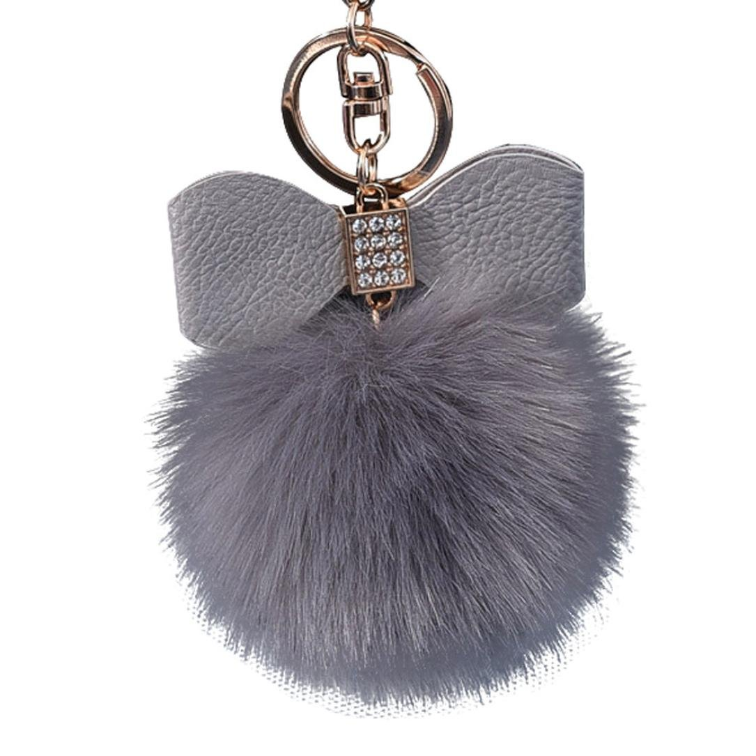 Amazon.com: forestime diamante pelota de piel de conejo Fox ...