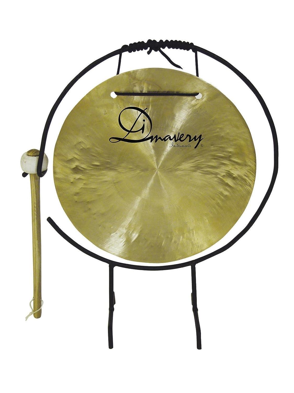 Gong THUNDER, cobre, 25cm, incluye soporte y mazo