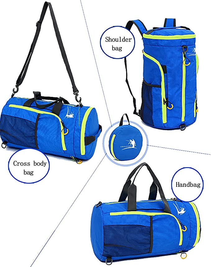 Free Knight Fk0725 Waterproof Nylon Folding Bag With Single Hand Multifunction Folding Bucket Bag Sports Gym Climing Bag Training Bags Sports Bags
