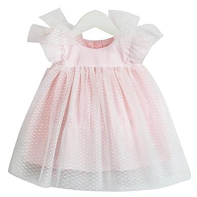 c40c926632cc mubenshang Toddler Girl Dress Baby Girls Ruffle Chiffon Dress Party Dress  Little Girl Birthday Dresses Infant
