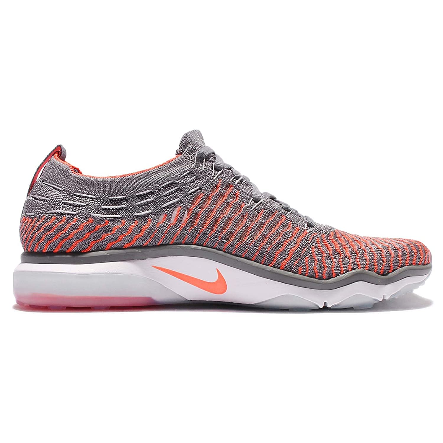 NIKE Women's Air Zoom Fearless Flyknit Running Shoes B06W9LJG49 9.5 B(M) US|Cool Grey/Black-total Crimson