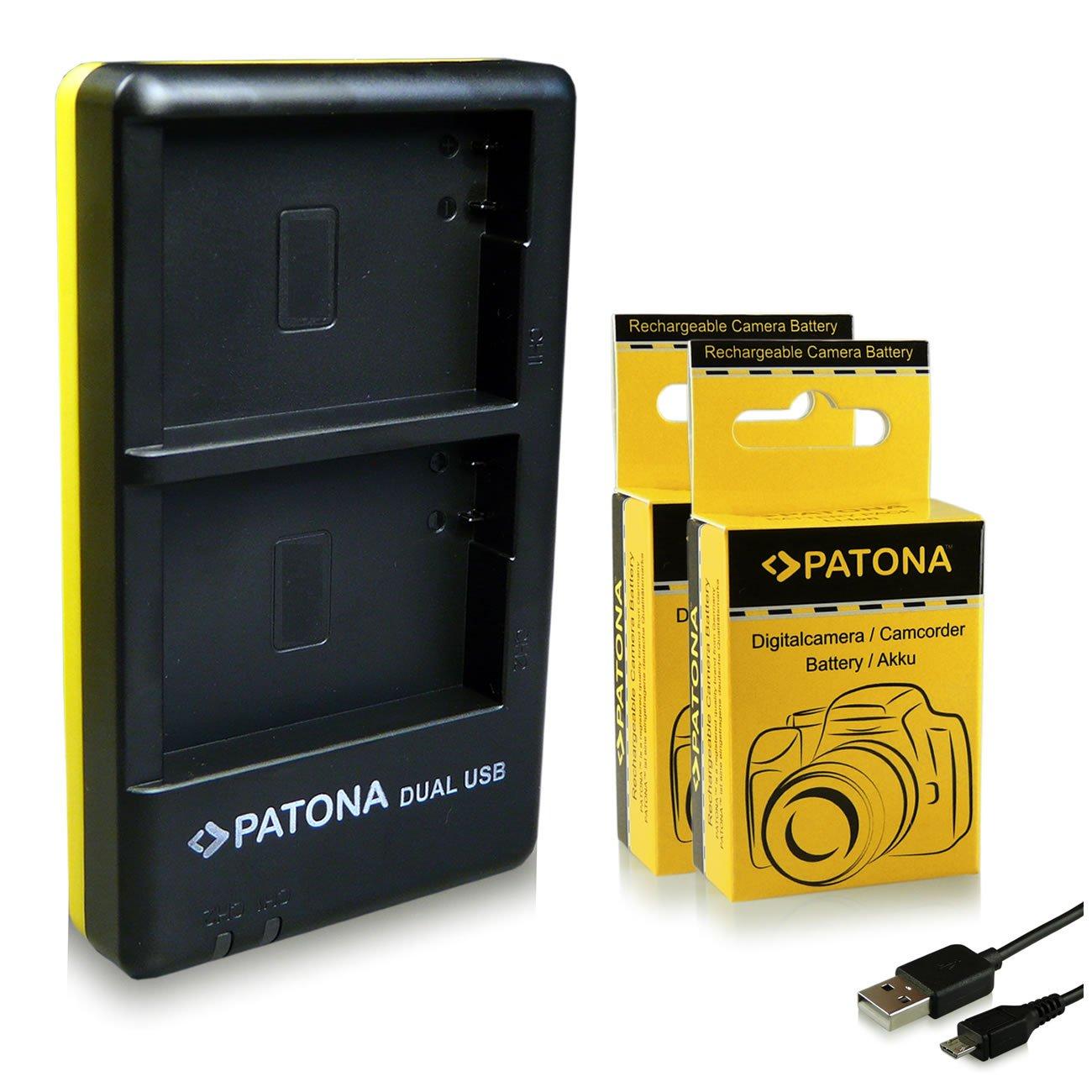 Fotocamera Batteria per Canon Ixus Digital 145 155 150