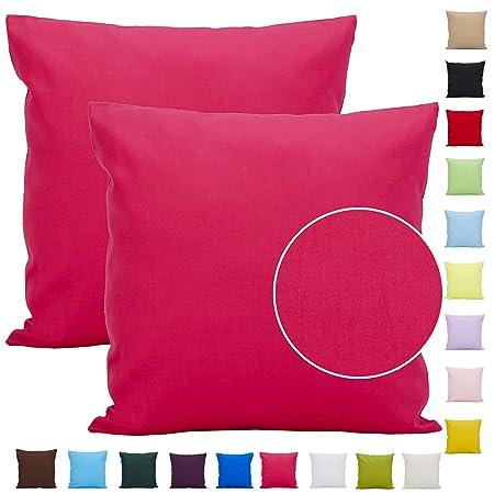 Comoco 2pcs color sólido de algodón ligero amortiguador de la ...