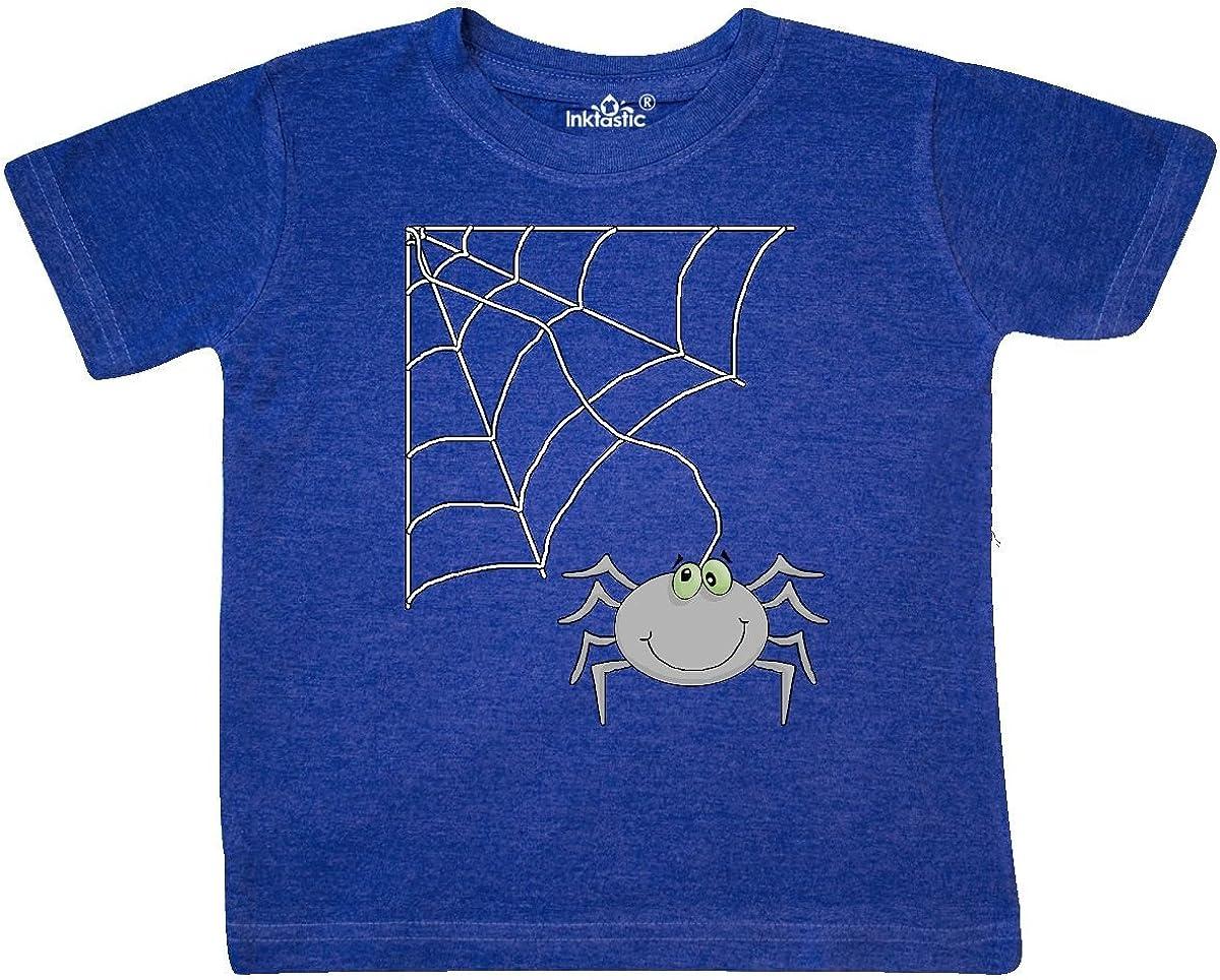 inktastic Spiderweb Toddler T-Shirt