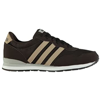 adidas Jogger Rip Clip Trainers Mens Brown/Sand Athletic Sneakers Shoes  (UK7) (