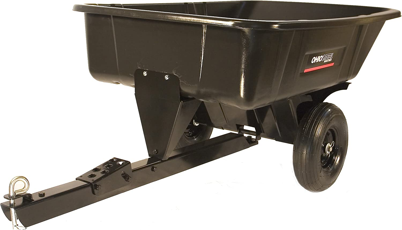 Ohio Steel 3040PSD Poly Cart with Swivel Dump, 10 cu. ft.