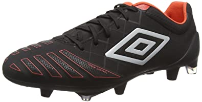 Umbro UX Accuro Pro HG, Chaussures de Football Homme, Rouge (Eah/Grenadine/Black), 46 EU