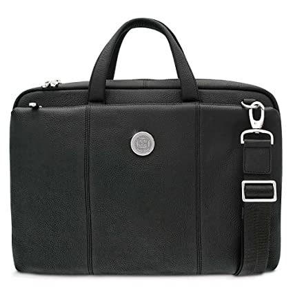 CSI Cannon Sports Minnesota Golden Gophers Mens Leather Briefcase