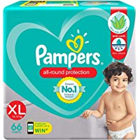 Pampers Pants Aloe Vera, X-Large, 12-17 kg, Piece of 66