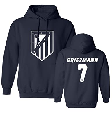 48e59d8a8 Tcamp Atletico Madid Shirt Antoine Griezmann  7 Jersey Youth Hooded  Sweatshirt