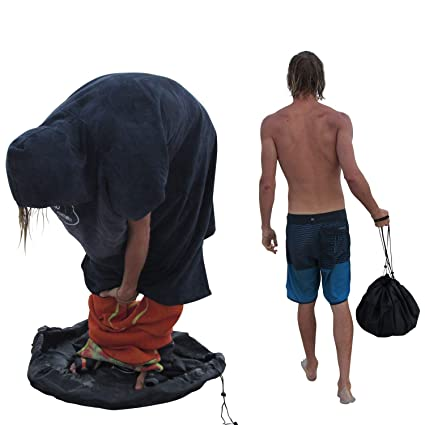 Amazon.com: Zeudas cambiador de traje de neopreno bolsa seca ...
