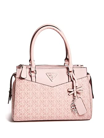 84dcd8d89084 Amazon.com  GUESS Factory Women s Desire Logo-Embossed Box Satchel  Fashion- USA