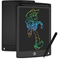 HOMESTEC Tableta Escritura LCD Color, Pizarra Digital para apuntar recordatorios Escribir o Dibujar (8,5 Pulgadas, Negro…