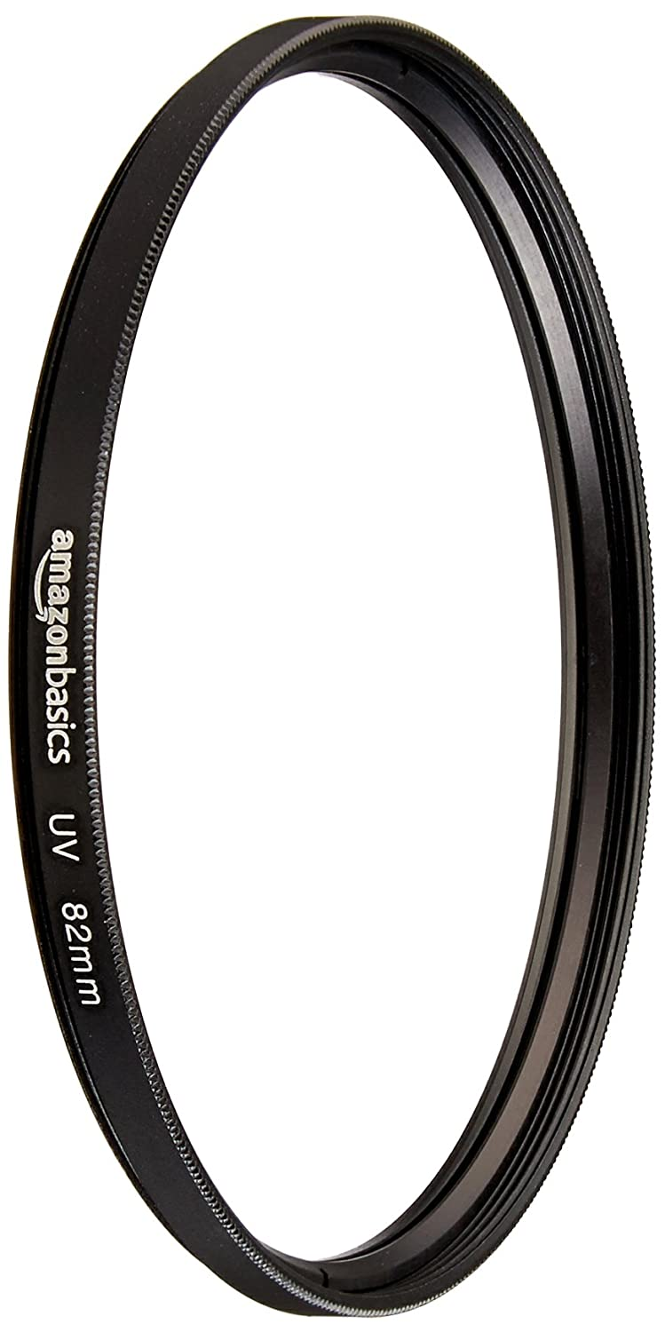 AmazonBasics UV Protection Lens Filter - 82 mm