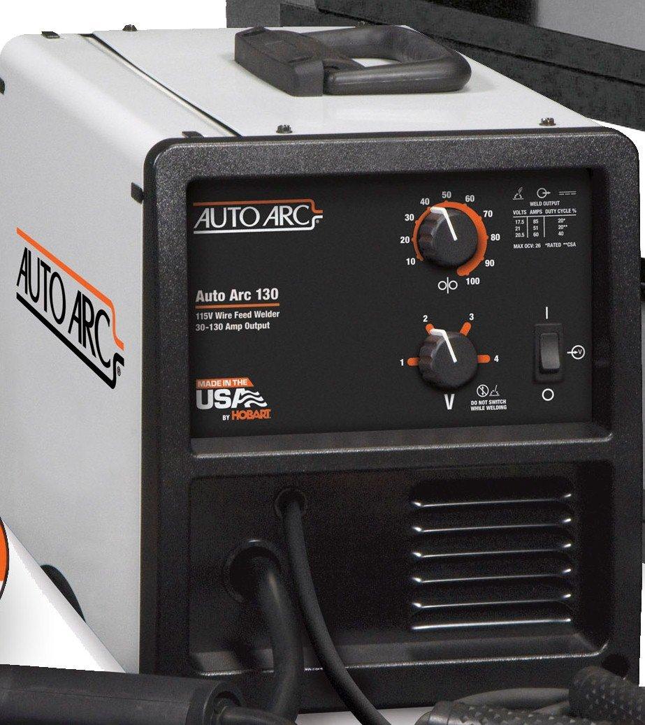 Hobart 500550 Auto Arc 130 Wire Feed MIG Welding Kit - Mig Welding ...
