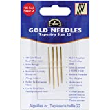 DMC 6131 Tapestry Hand Needles, Gold, Size 22