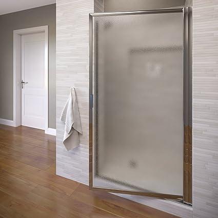 Basco Deluxe 2725 29 In Width Glass Shower Door Obscure Glass