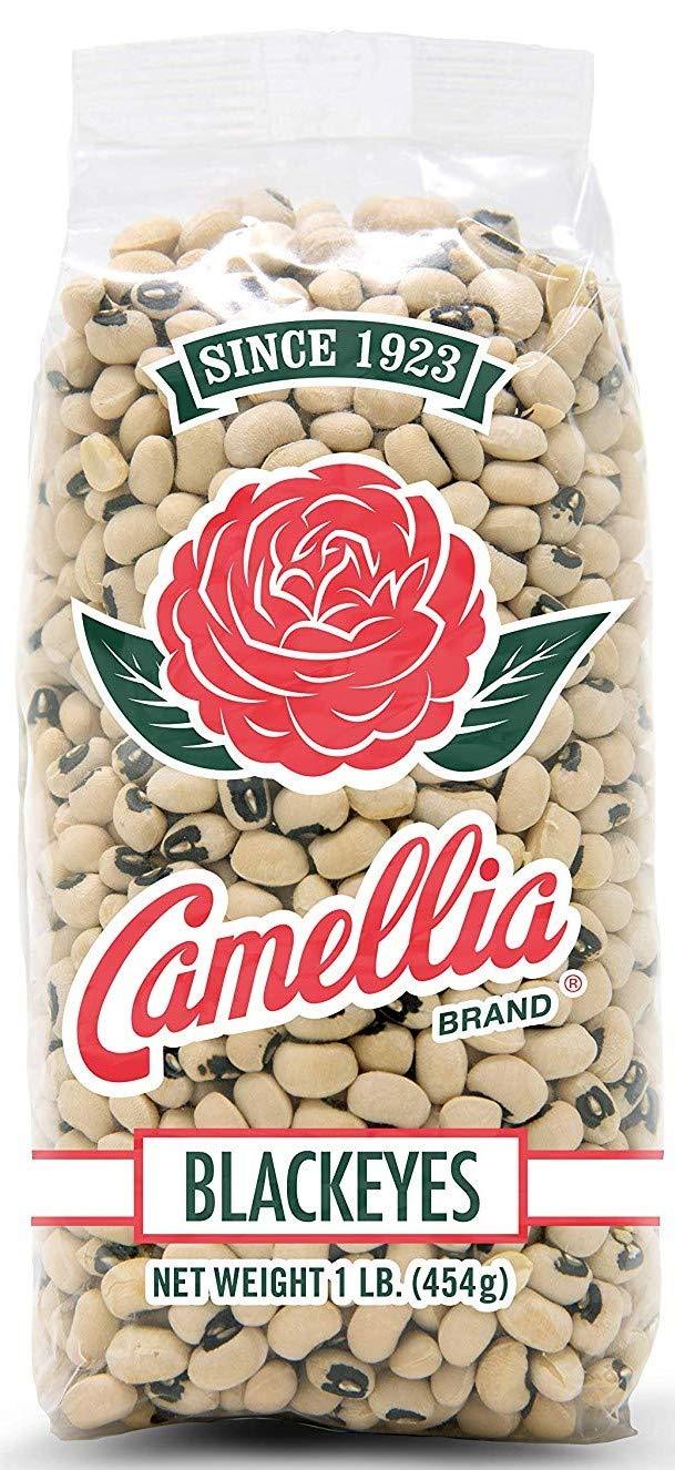 Camellia Brand Blackeyed Peas 1 Pound Bag (3 Pack)