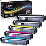 Arthur Imaging Compatible Toner Cartridge Replacement for Brother TN221 TN225 (2 Black, 1 Cyan, 1 Yellow, 1 Magenta, 5…