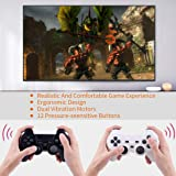 Saloke 2 Packs Wireless Gaming Console for Ps2