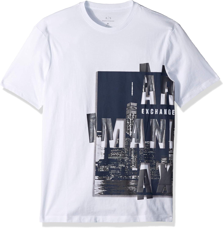AX ARMANI EXCHANGE - Camiseta - para hombre: Amazon.es: Ropa y accesorios